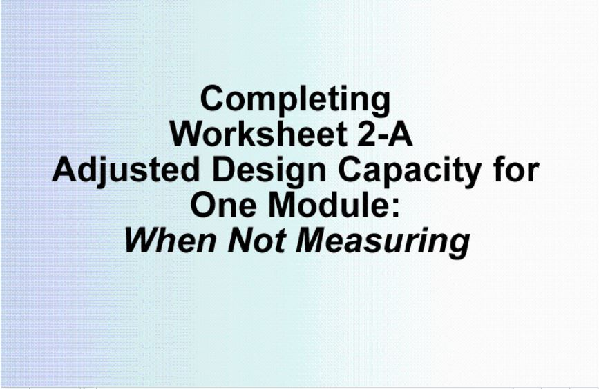 WS2A When Not to Measure