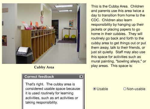 2.Cubby Area